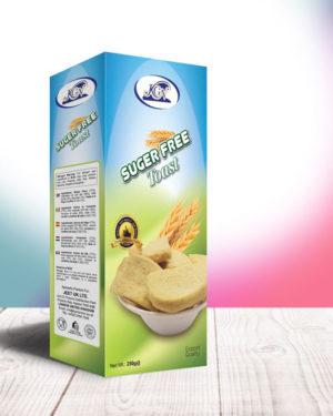 Sugar Free Toast 250g