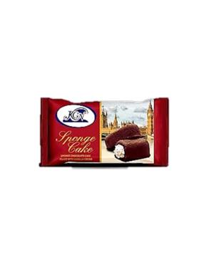SPONGE CHOCOLATE CAKE WITH VANILLA CREAM  -12X30GX12