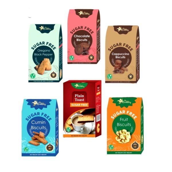 Sugar free pack of 6